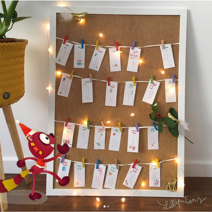DIY Advent calendar 2017