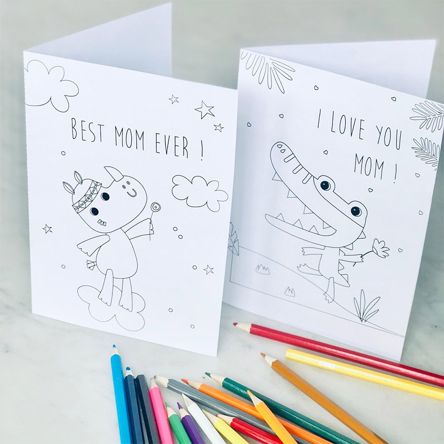 Mother's Day cards DIY