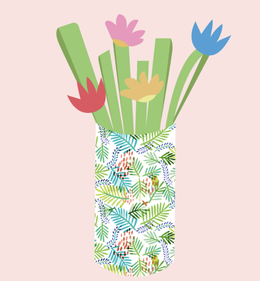 Spring bouquet DIY
